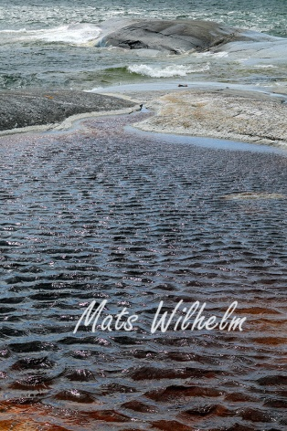 Vattenkrusningar, Huvudskär